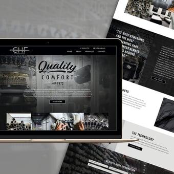 CHF New Website Launch through Stratagon