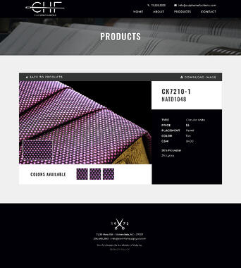 CHF Magenta Upholstery Product