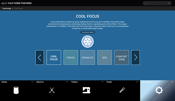 CHF Cool Technology Page Old Website
