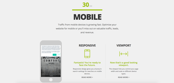 CHF New Website Mobile Results Stratagon