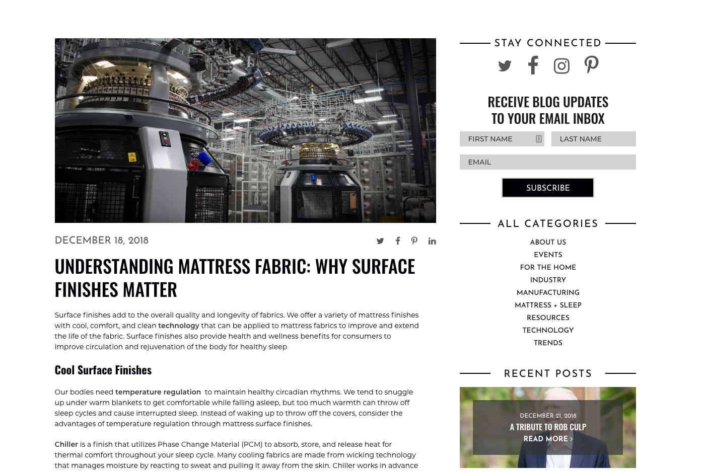 CHF Blog Content New Website Stratagon