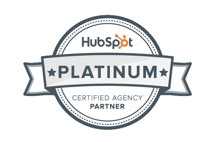 HubSpot Platinum Certified Agency Partner